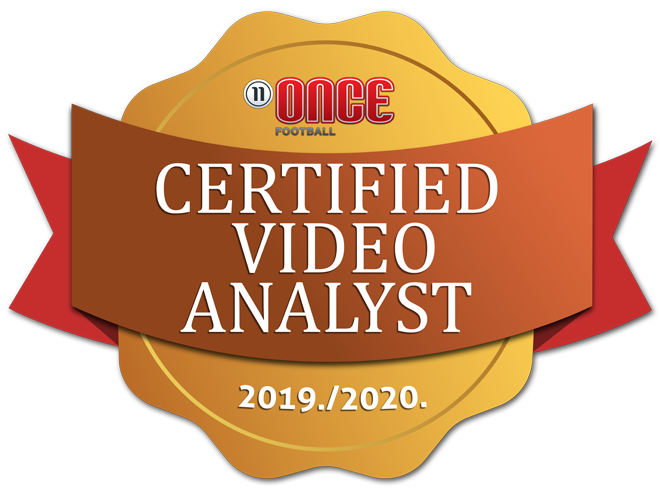 Once certified video analyst