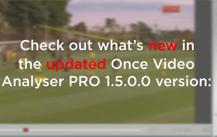 What's new - the new updated Once Video analyser PRO