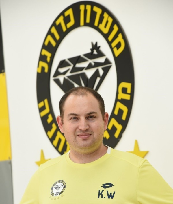 Kfir Wolfson, Head of Scouting and Data analyst at FC Maccabi Netanya, using Once Pro