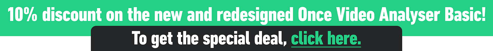 Once Basic redesign special offer 1920